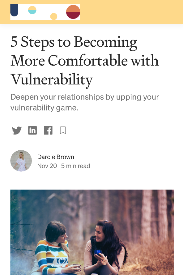 5-Steps-Becoming-More-Comfortable-Vulnerability_Darcie-Brown-LMFT-on-Medium-Curio