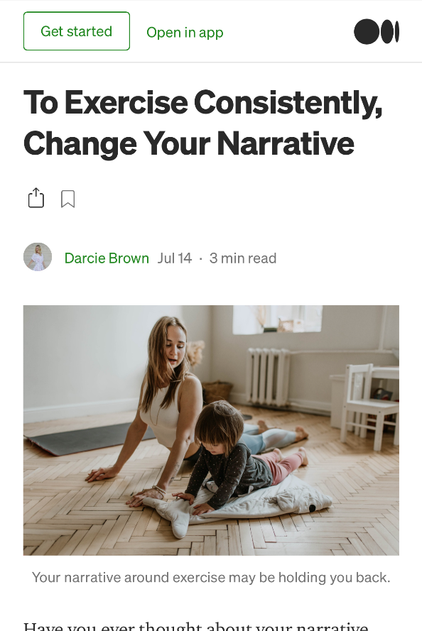 To-Exercise-Consistently-Change-Your-Narrative_Darcie-Brown-LMFT-on-Medium
